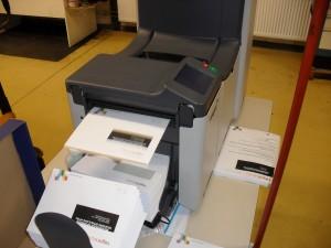 couverteermachine bij drukkerij meinema