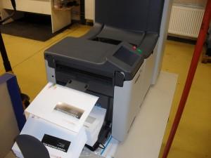 enveloppen couverteer machine