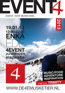 4e musketier event